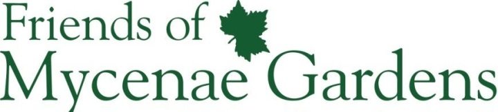 Logo for Friends of Mycenae Gardens